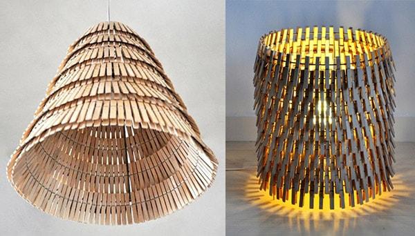 Projekt GAFL - Genbrug AFfald, Lampe.